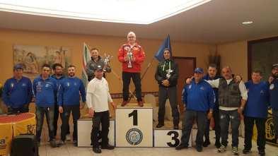 Il podio della 31esima edizione del Trofeo