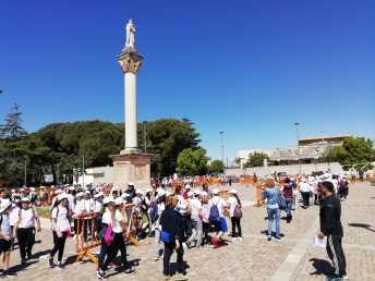 L'evento in piazza Regina del Cielo