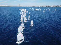Opti Sud regata promo per bambini Gallipoli Nautico