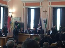 Presicce Acquarica il viceprefetto Sergi