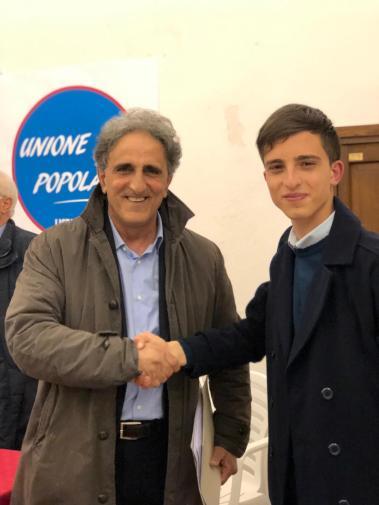 Salvatore Musarò e il figlio Andrea