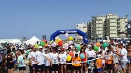 Gallipoli run 2019, la partenza