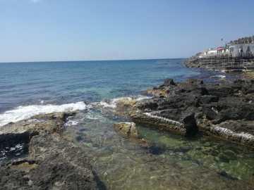 Leuca, il mare ripulito