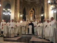 La concelebrazione in basilica