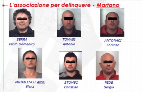 Arrestati-Martano