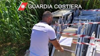 Guardia costiera, sequestro a Pescoluse