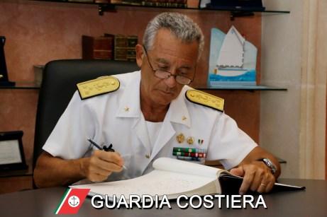 L'ammiraglio Giovanni Pettorino