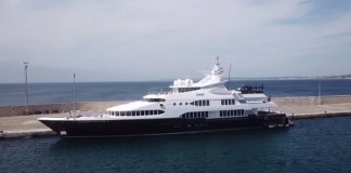 Yacht di lusso a Gallipoli