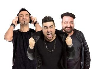 Dj Squalo, Paolo Noise e Pippo Palmieri