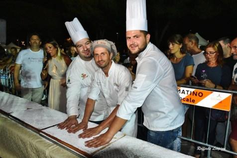 Giuseppe Zippo, Giorgio Romano ed Enrico Casarano (foto Raffaele Leopizzi)