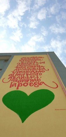 Murales Marta Lagna a Nardò