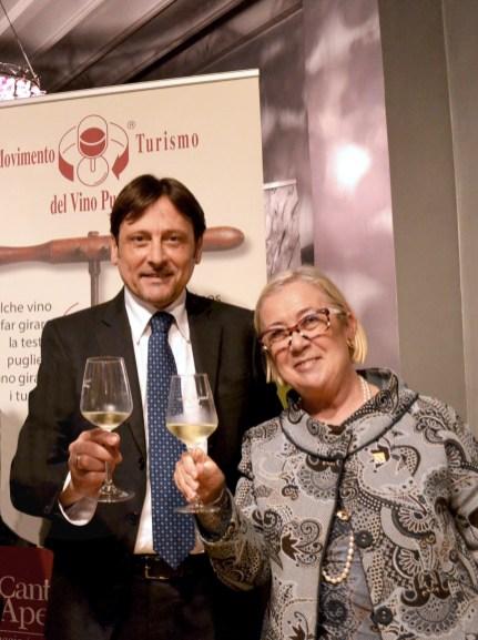 Dario Stefàno e Donatella Cinelli Colombini