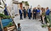 La visita nel borgo antico di Matino (foto Raffaele Leopizzi)