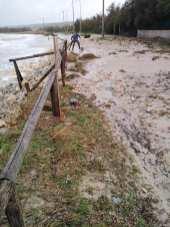 Allagamento a Lido Marini Punta del Macolone