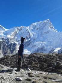 Franco Della Ducata sul monte Everest
