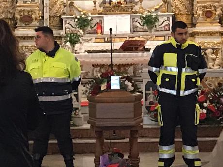 Galatone i funerali dei tre operai (3)