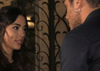 """Giulia D'Urso durante una puntata di """"Uomini e donne"""""""