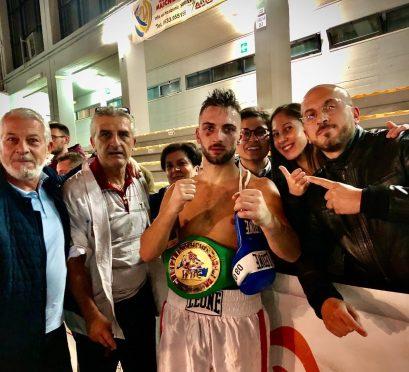 Giuseppe Carafa vince il titolo internazionale Wbc del Mediterraneo