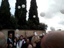 Presicce, i funerali di Siria Fanciullo
