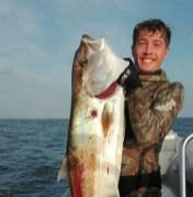 Davide e la sua passione per la pesca