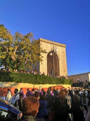 Alezio, i funerali di don Antonio Minerba