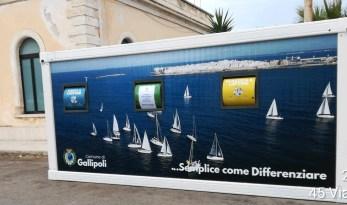 Gallipoli, isola ecologica zona Stazione