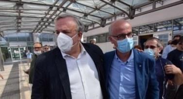 Michele Emiliano e Pier Luigi Lopalco