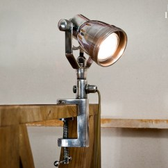 Chairs On Wheels Uk Thonet Rocking Chair Table-clamp Light - Practical And Does Not Take Up Room