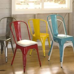 Stackable Metal Chairs Chair Back Covers Ikea Tolix Chair: A True Design Icon To Complement Your Interior