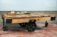 Wood Wagon coffee table - A table of character | pib