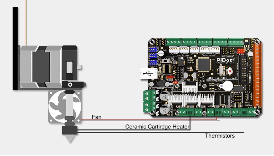 Printer Extruder Diagram On 3 Sd Fan Motor Capacitor Wiring Diagram