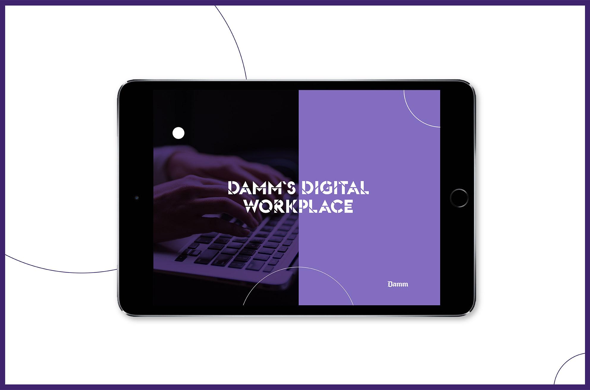 Damm-Digital-Workplace-Damm-diseñografico-agencia-barcelona-1