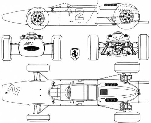 Ferrari 158. Photos and comments. www.picautos.com