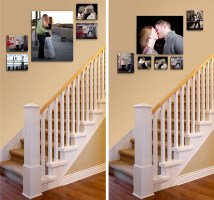 25+ Best Picture Wall Ideas for Stairs   PicBackMan