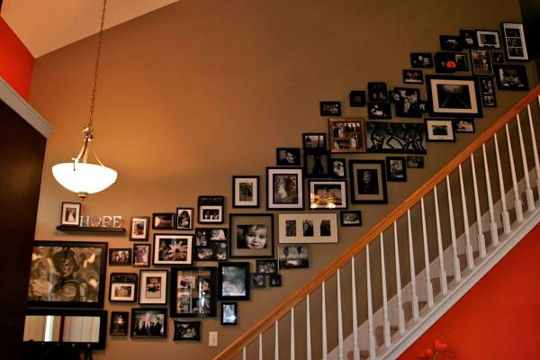 Stairway Wall Ideas Inspired