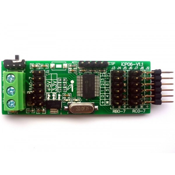 13 pin socket wiring diagram 2004 chrysler sebring icp06 - iboard mini (microchip 28-pin pic16 development board)
