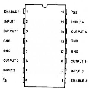 Image Result For Datasheet L293d