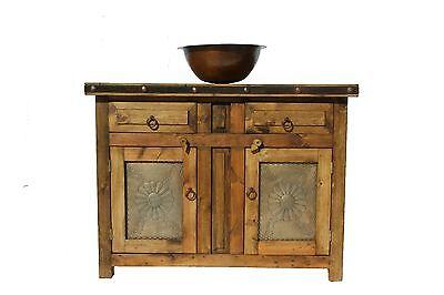Custom Rustic Reclaimed Wood Bathroom Vanity 36 Wide Flora Laminosa 929 00 Picclick