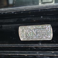Belmont Barber Chair Parts Canada Foldable Shower Friseur Einrichtung Koken Antik Shop Jugendstil