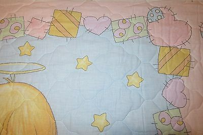 precious moments pre quilted nursery