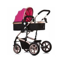 Luxury Baby Stroller Pram Buggy 3In1 Pushchair Car Seat ...