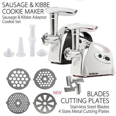 electric grinder kitchen fruit decor winholder meat food sausage mincer 4blades 6 of 8 2800w black