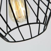 BLACK Chandelier Lighting Kitchen Lamp Modern Ceiling ...