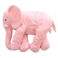 PINK LARGE ELEPHANT Pillows Cushion Baby Plush Toy Stuffed ...