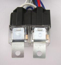 4 headlight relay wiring harness h4 headlamp light bulb ceramic socket plugs set 2 2 of 12  [ 1296 x 1296 Pixel ]