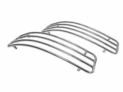 CHROME TOP RAILS for Kawasaki Vulcan 1500 1600 1700 Nomad