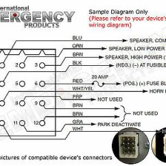 Federal Signal Pa300 Siren Wiring Diagram Jeep Cherokee 1996 12 Pin Plug Harness Cable For Smart Ss2000 Ss200 Vision - $18.99 | Picclick