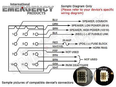 federal signal pa300 wiring diagram - wiring diagram, Wiring diagram