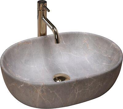 vasque en ceramique a poser lara 48 5 x 35 cm lavabo ovale forme moderne rea