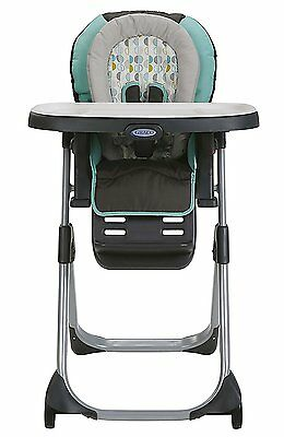 graco duodiner lx high chair folding cushion bed in groove brand new free shipping